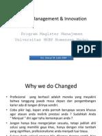 Change Management & Innovation