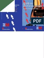 Guía Primeros Pasos para inmigrantes.Comunidad de Madrid