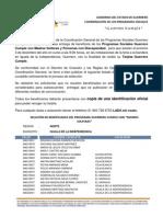 PADRÓN GUERRERO CUMPLE REGIÓN NORTE, MUNICIPIO IGUALA DE LA INDEPENDENCIA