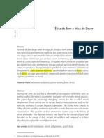 fernando_rodrigues_Ética do Bem e ética do Dever - Revista O quenos faz pensar PUC-Rio