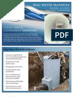 Plasti-Fab Mag Metering Manhole 1 Page Brochure