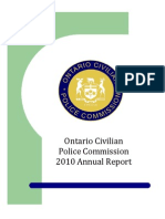Ontario CivilianPolice Commission2010 Annual Report