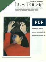 Tinnitus Today December 1989 Vol 14, No 4