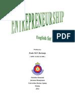 Entrepreneurship - English for Business
