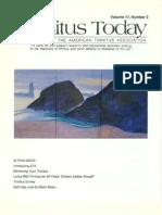 Tinnitus Today June 1992 Vol 17, No 2