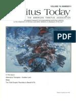 Tinnitus Today December 1994 Vol 19, No 4
