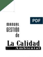 Manual Gestion de La Calidad Ambiental