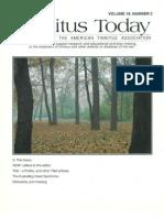 Tinnitus Today September 1994 Vol 19, No 3