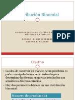 Planificacion Urbana - Distribución Binomial