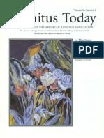 Tinnitus Today June 1995 Vol 20, No 2