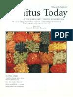 Tinnitus Today September 1996 Vol 21, No 3
