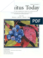Tinnitus Today September 1998 Vol 23, No 3