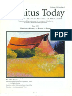 Tinnitus Today March 2000 Vol 25, No 1