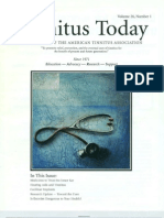 Tinnitus Today March 2001 Vol 26, No 1