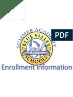 Blue Valley Summer Academy Catalog, Summer 2013