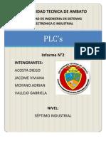 informe 2 plcs