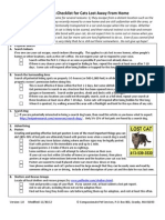 Search Checklist for Cats Lost Away From Home v1.0