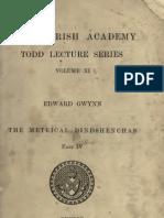 The Metrical Dindshenchas vol 2 edited by Edward Gwynn (1906)