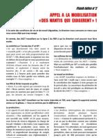 tract n°2 CGT ECT PAZ appel mobilisation décembre 2012