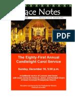 Grace Notes December 2012