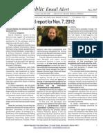 297 - Benjamin Fulford Report for Nov. 7, 2012