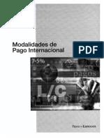 Modalidades de Pago Internacional