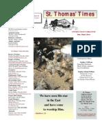 newsletter Advent Christmas 2012