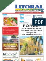 Jornal DoLitoral Paranaense - Edição 195 - Online - novembro 2012