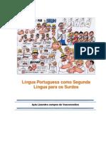 Livro LP Como 2a Lingua Para Os Surdos