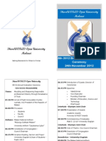 2012 ShareWORLD Open University Graduation Programme