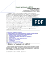 Estrutura Lingüística da LIBRAS