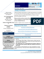 KI Eliminate USA 2 Newsletter 11-30-12