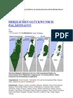 Uno-Vollversammlung Palästina als beobachtenden Nicht-Mitgliedstaat aufgenommen