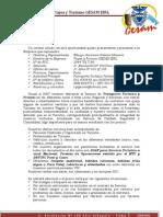 Carta de Presentación 2012