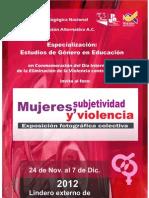 Mujeres Subjetividad y Violencia