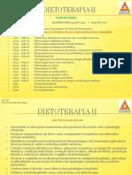 DIETOTERAPIA II Aula 02- Magreza, desnutri��o e obesidade