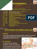 DIETOTERAPIA II Aula 04 Dietoterapia No Diabetes Mellitus