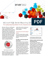 SQL Server 2012 BI Reporting Overview Oct2011