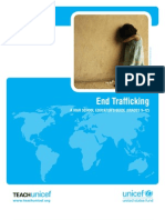 End Human Trafficking - A Middle School Educator's Guide UNICEF - grades 9-12
