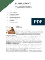 El Derecho y Sus Componentes