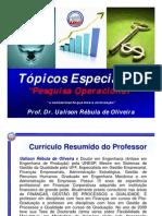 TÓPICOS ESPECIAIS II AEDB [Modo de Compatibilidade]