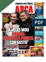 Diario MARCA 29 DE NOVIEMBRE 2012