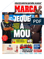 Diario MARCA 28 DE NOVIEMBRE 2012