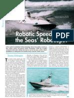 Armada Int 2011 Robotic SpeedBoats