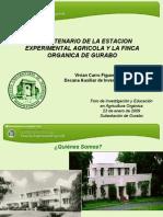 Presentacion Foro Agricultura Organica-V.carro