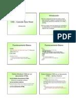 CSS - Cascade Style Sheet