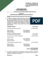 dictamen presupuesto 2013