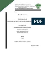 Análisis del MAS en un sistema masa-resorte