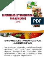 CLASE 12 CONTAMINACION POR ALIEMNTOS ETAS