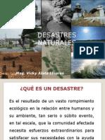 CLASE 13 EFECTOS EN LA SALUD DE LOS desastres